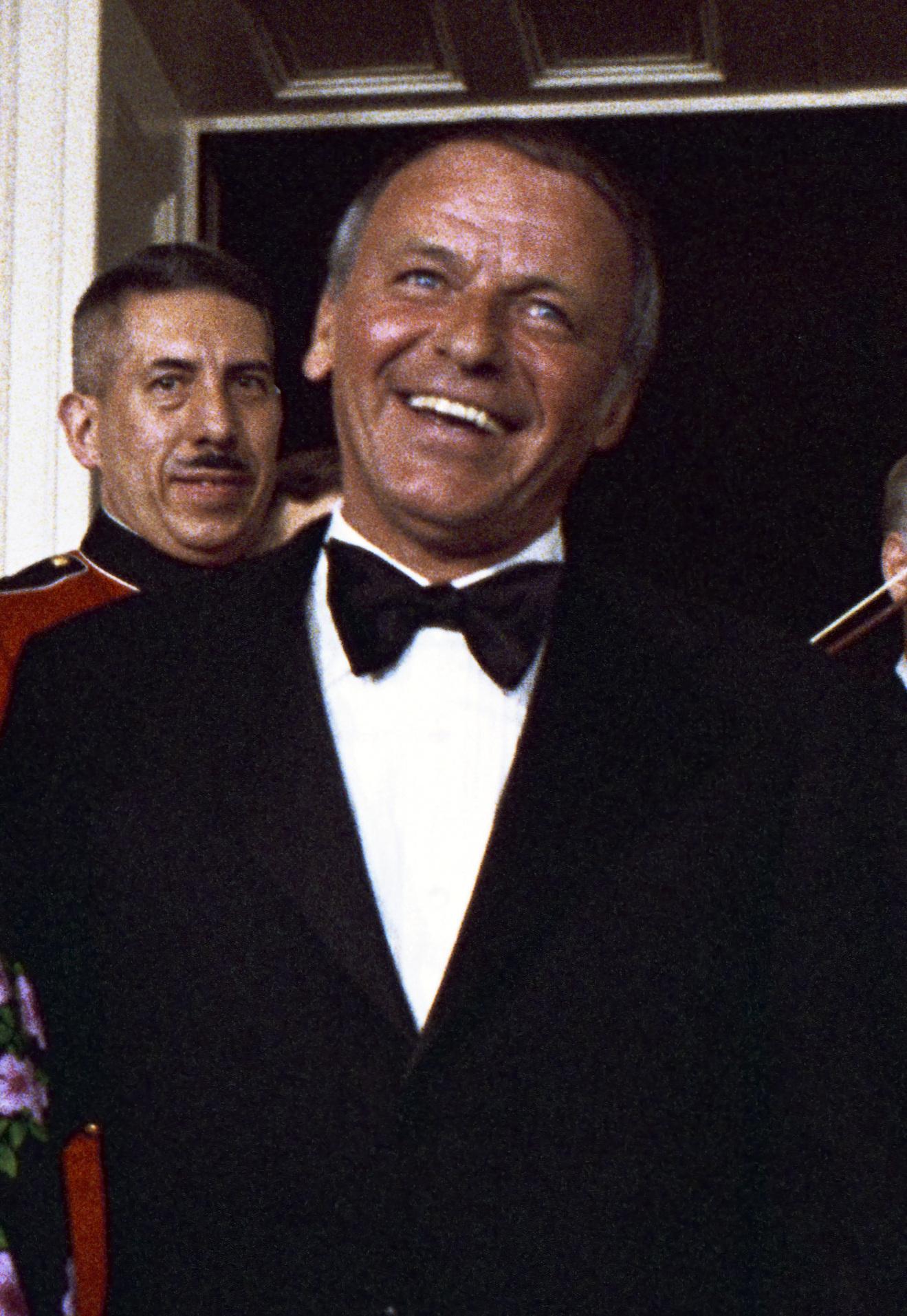 Sinatra w Białym Domu w 1973 r.