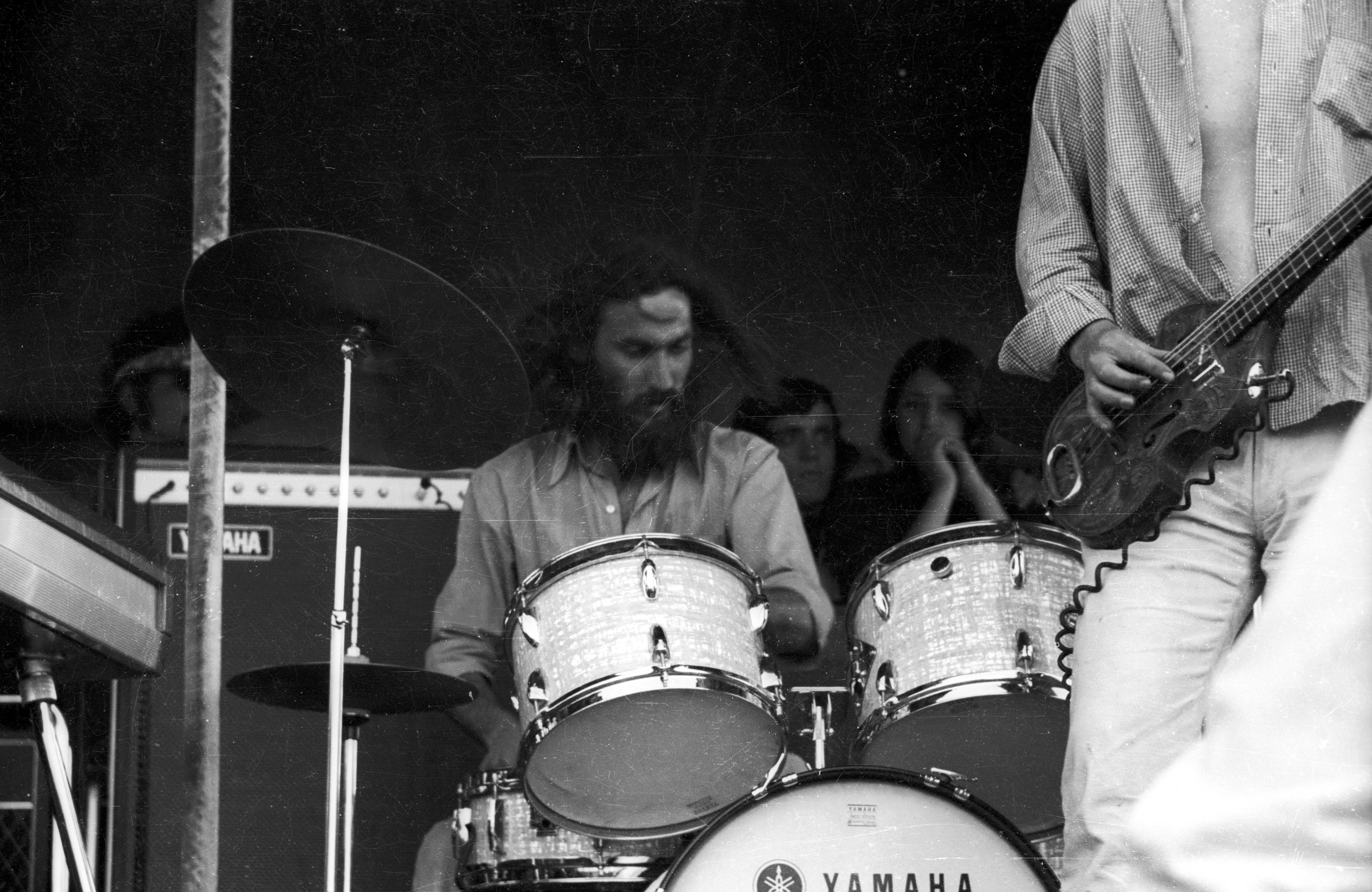 Los Jaivas en Piedra Roja Octubre, 1970.