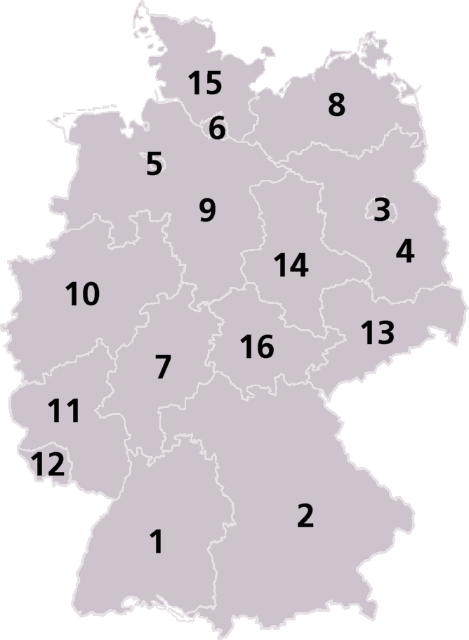 Germany Laender Map.png
