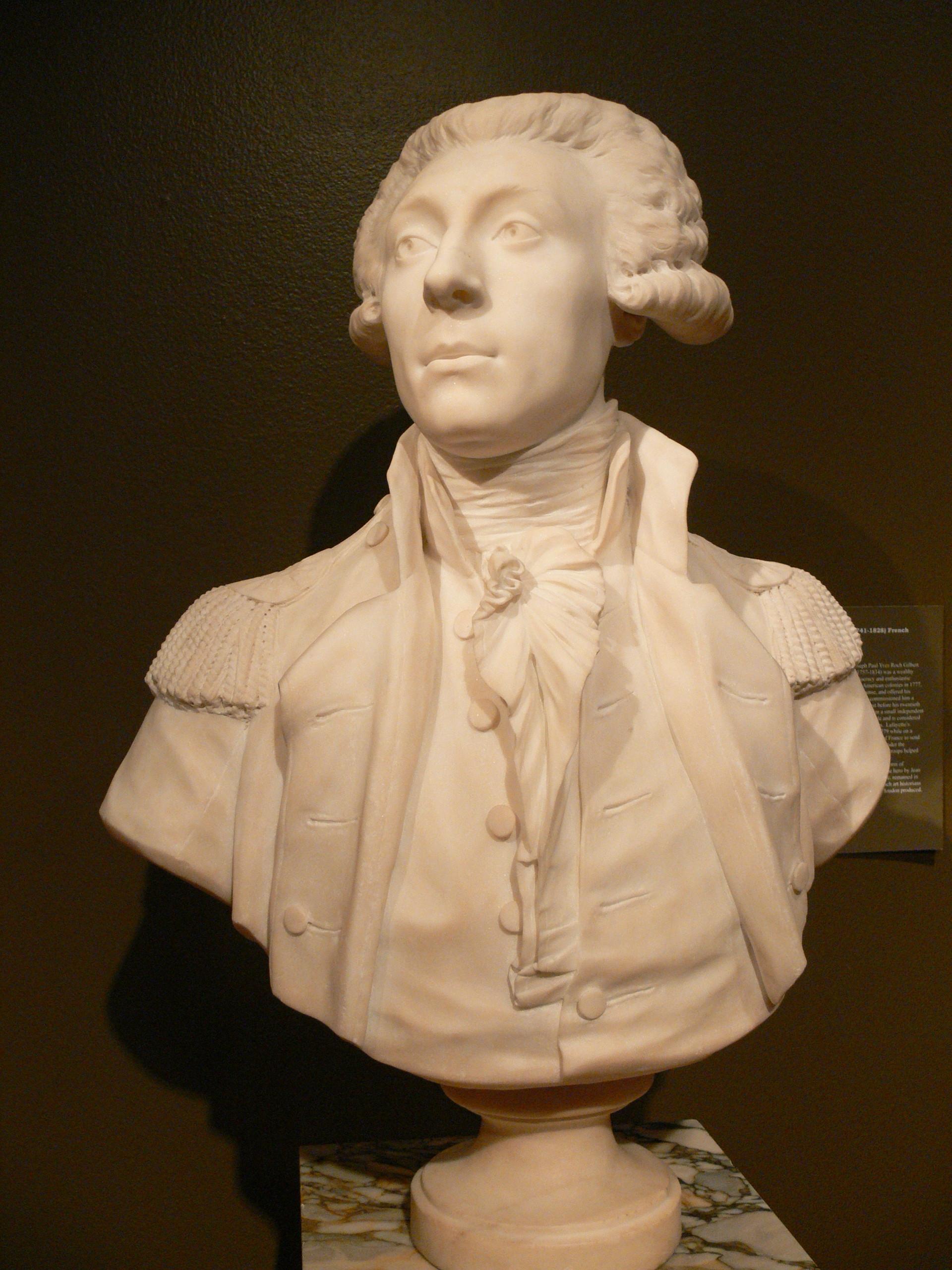 Gilcrease Büste Lafayette