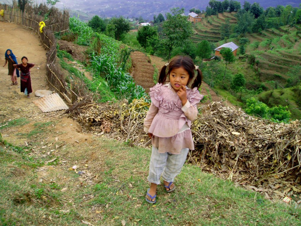 Nepalese Girl by Gregor Younger CC-BY-SA-2.0