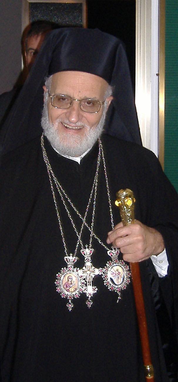 Gregorio III, durante uma viagem à Itália, em setembro de 2006