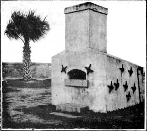 Hotshot furnace Fort Marion %28Castillo de San Marcos%29