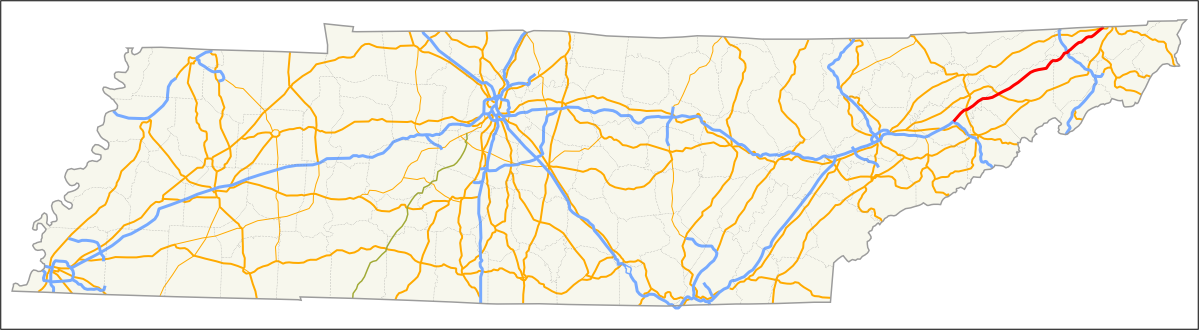 File:I-81 in Tennessee Map png - Wikimedia Commons