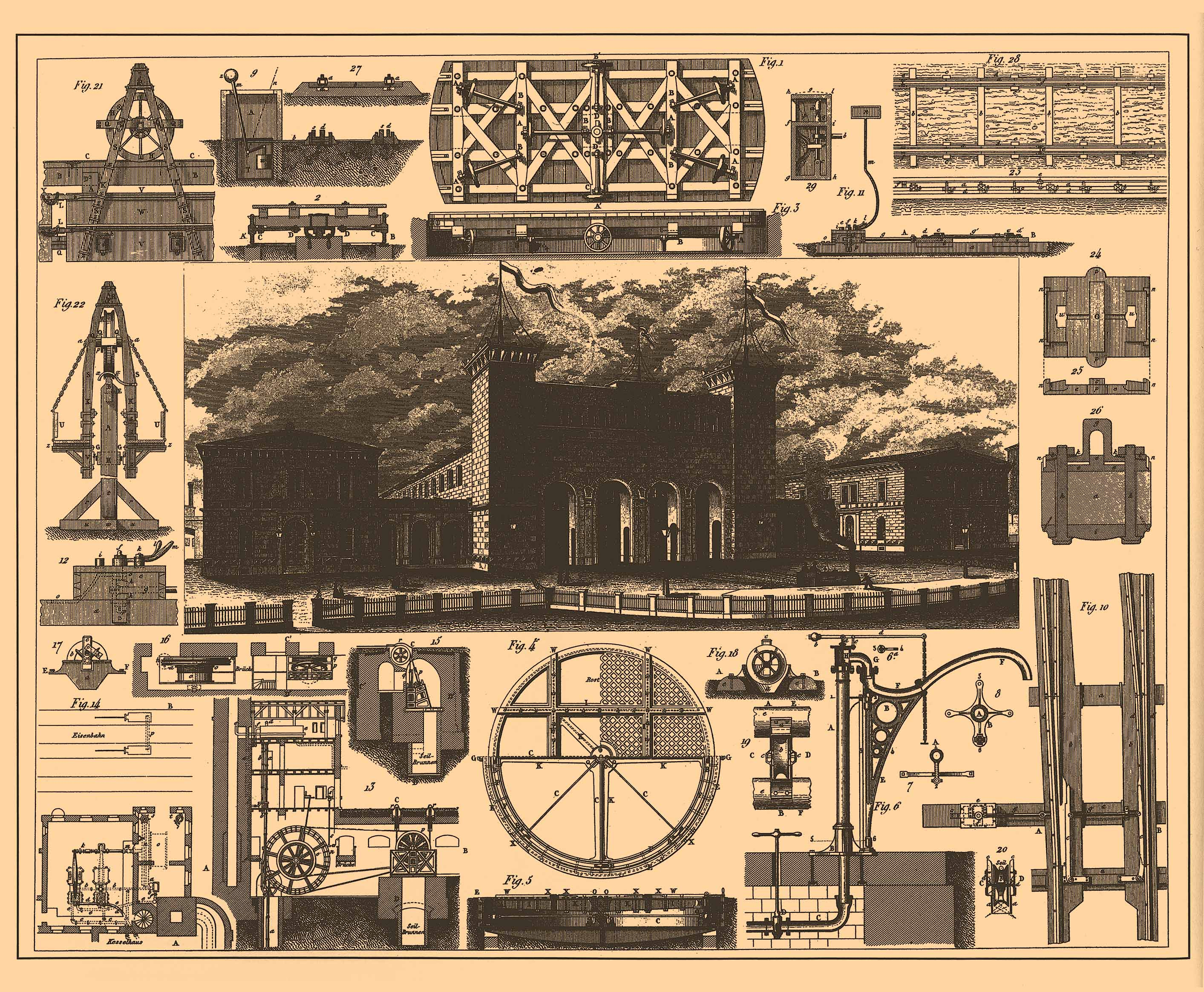 File iconographic encyclopedia of science literature and for Architecture blueprints free
