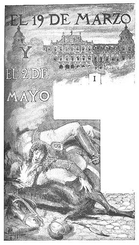 """File:Ilustración de """"El 19 de marzo y el 2 de mayo"""" de Galdós.jpg"""