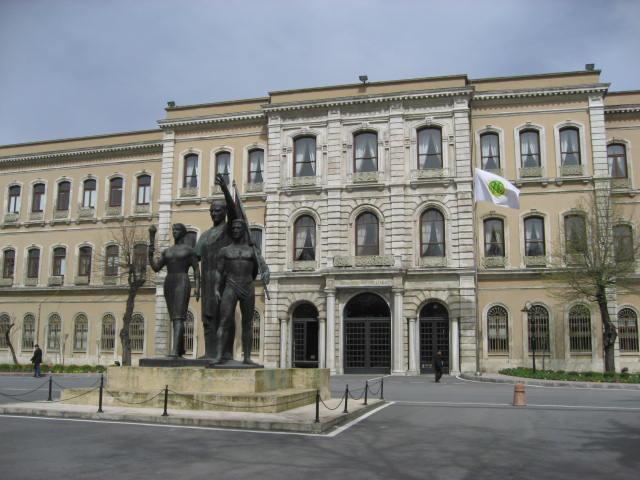 Istanbul University campus March 2008c