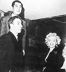 DiMaggio and Marilyn Monroe staying at Imperial Hotel in Tokyo on their honeymoon