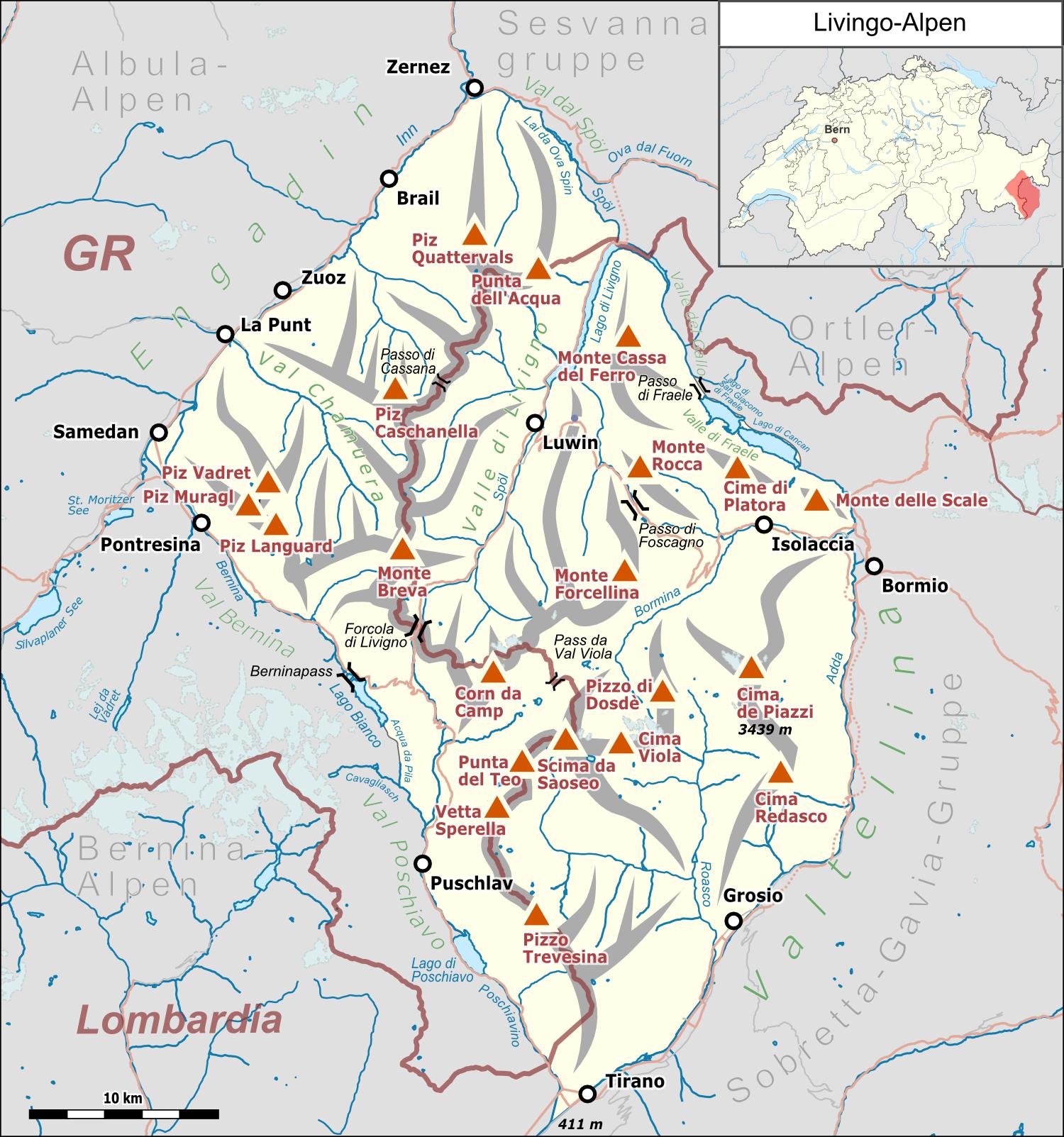 livigno karte italien Livigno Alpen – Wikipedia