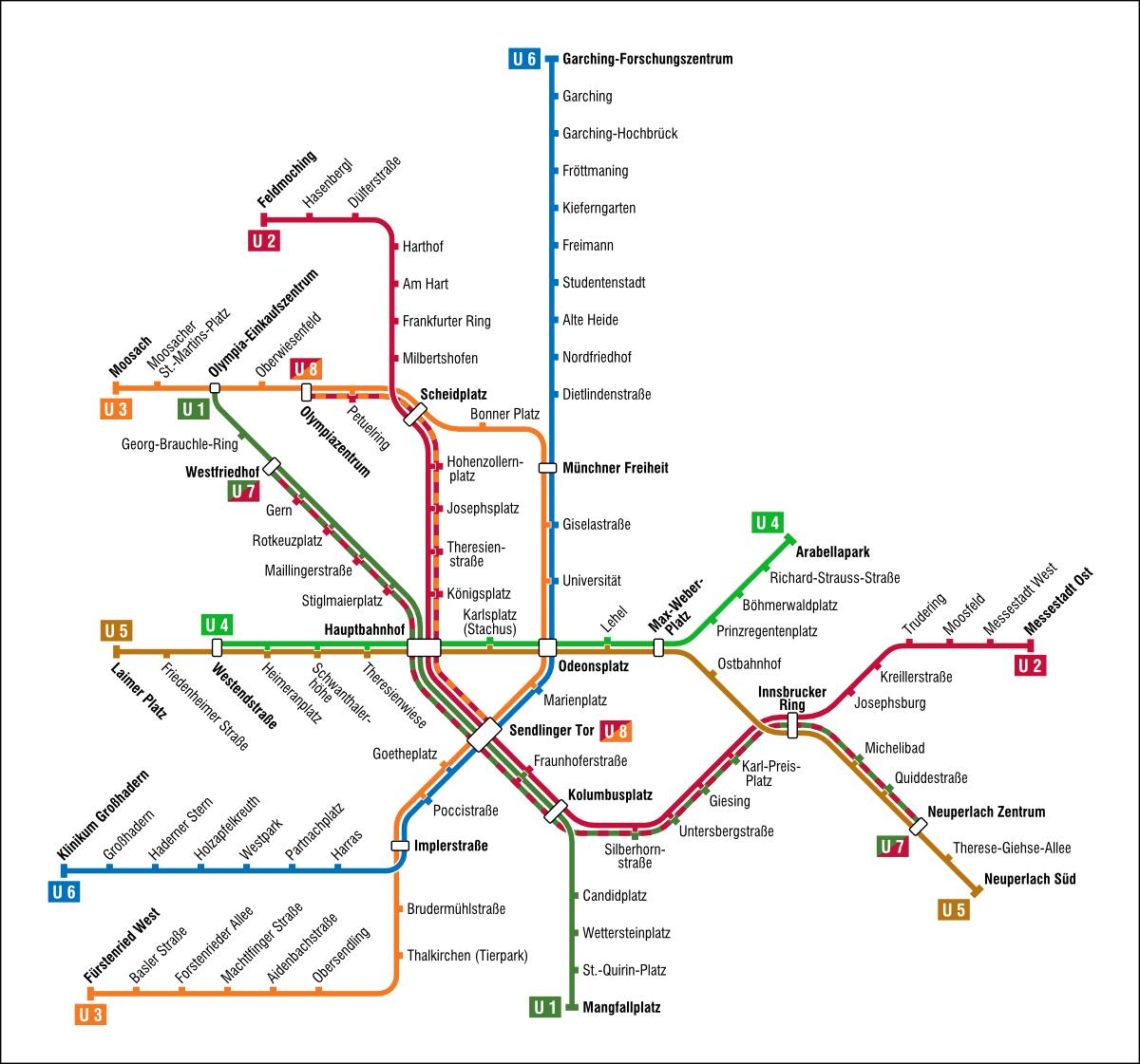File Karte Der U Bahn Munchen Png Wikimedia Commons