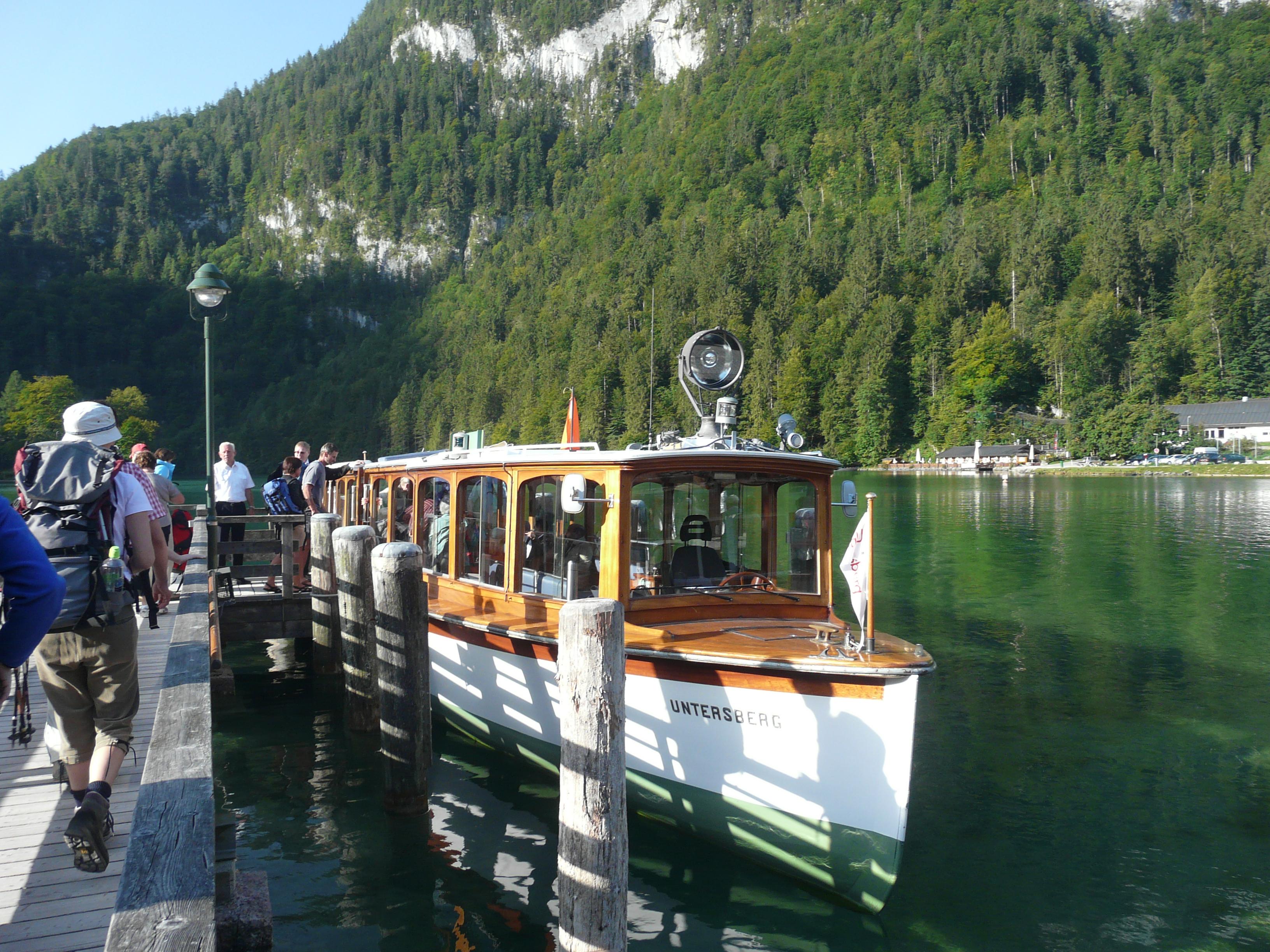 Koenigsee, Bavaria boat ride