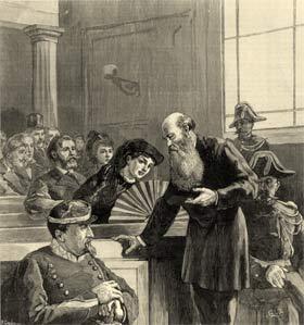 Pierre Kropotkinen el juicio.