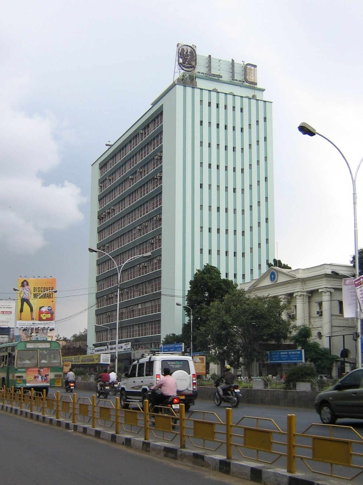 Front Elevation For Commercial Buildings : Lic building wikipedia