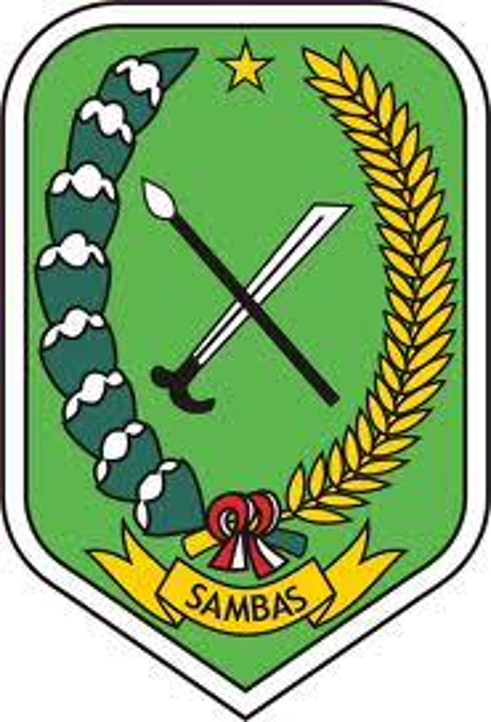 Berkas Lambang Kabupaten Sambas Jpg Wikipedia Bahasa Indonesia Ensiklopedia Bebas