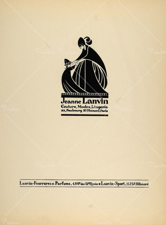 Lanvin wikip dia for Akay maison de couture
