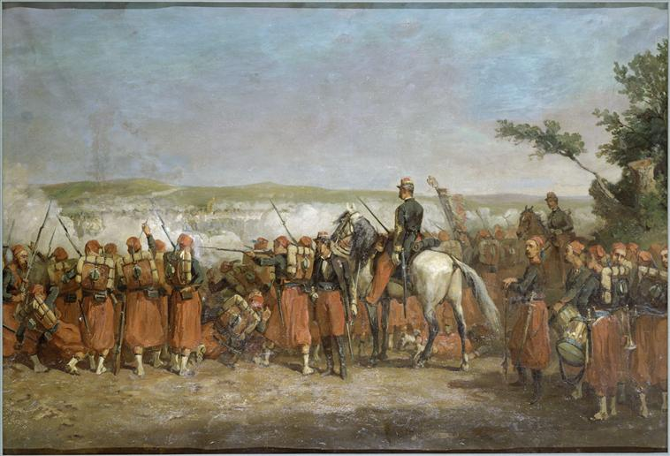 1859 BATTAGLIA DI MONTEBELLO Risorgimento Carica dei Cavalleggeri Piemontesi