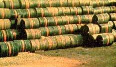 Leaking Agent Orange Drums in Vietnam, From ImagesAttr