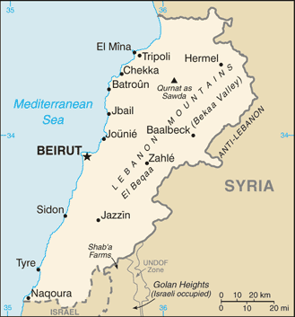 List of airports in Lebanon Wikipedia