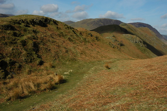 Low Bank and Rannerdale Knotts - geograph.org.uk - 1244253