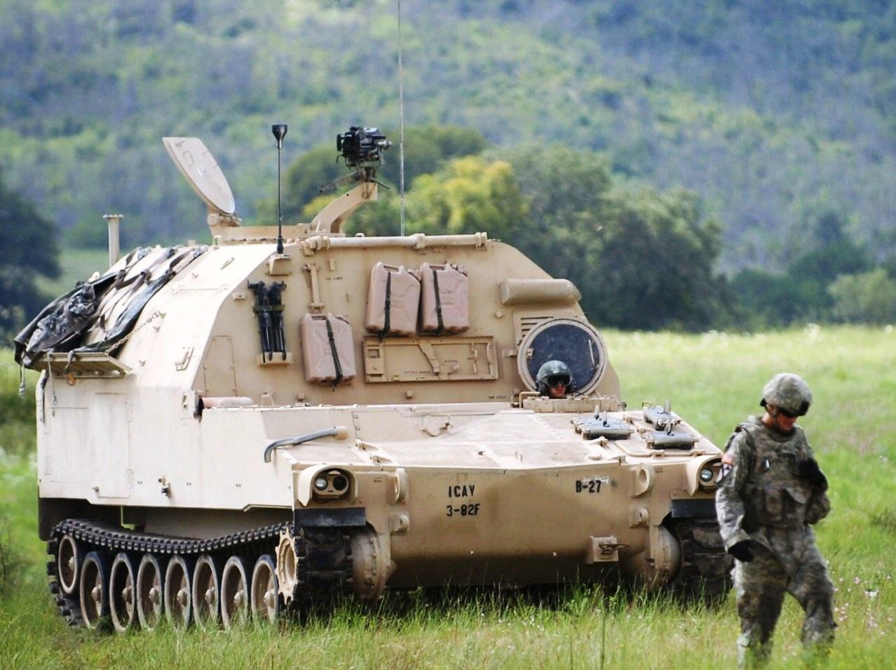 قوات التدخل السريع المصرية M992A2_FAASV