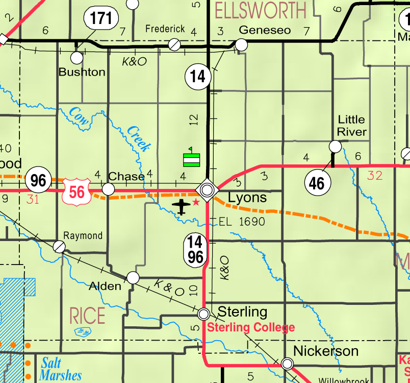 Geneseo Map