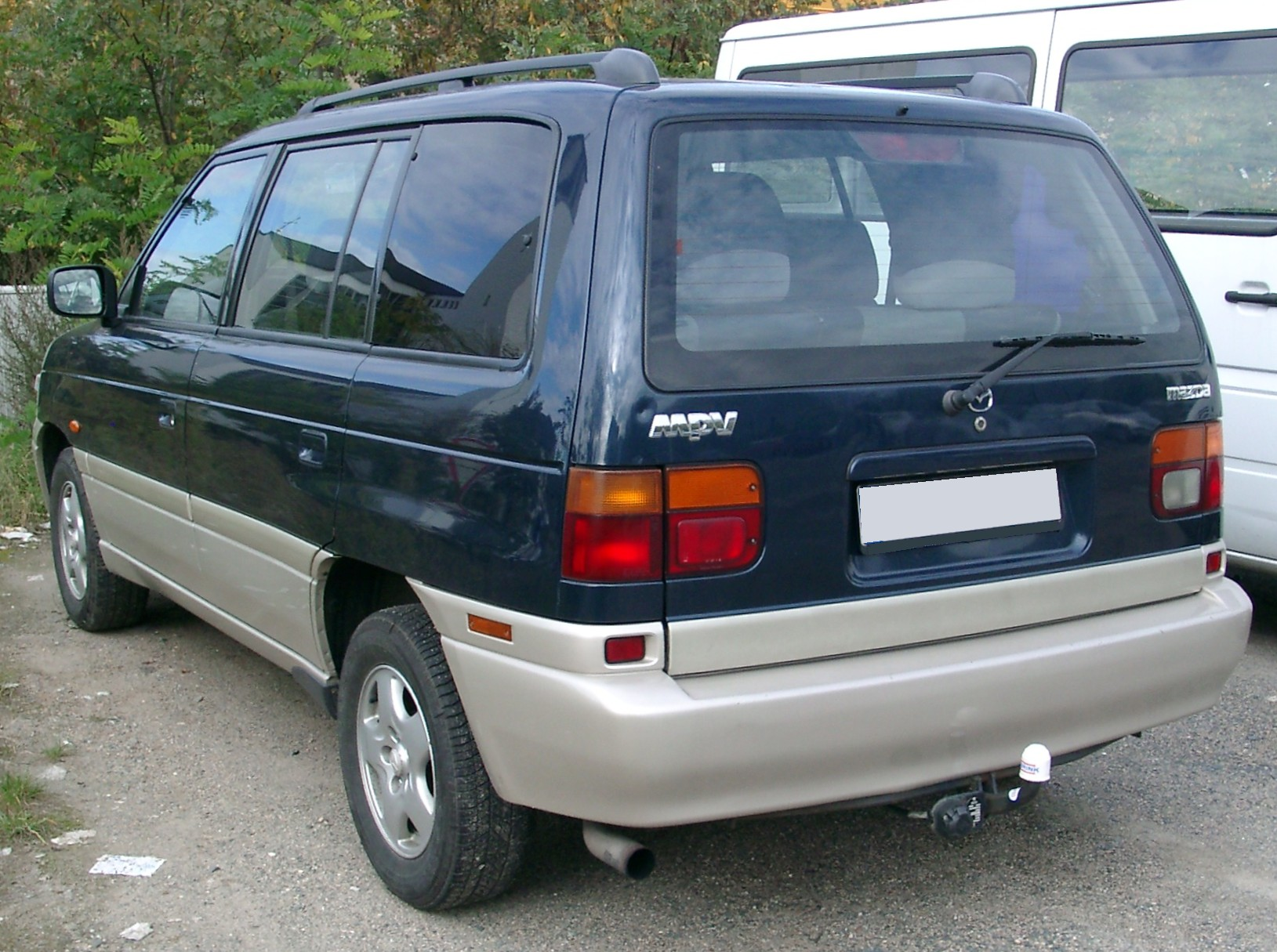 File Mazda Mpv Rear 20070926 Jpg Wikimedia Commons