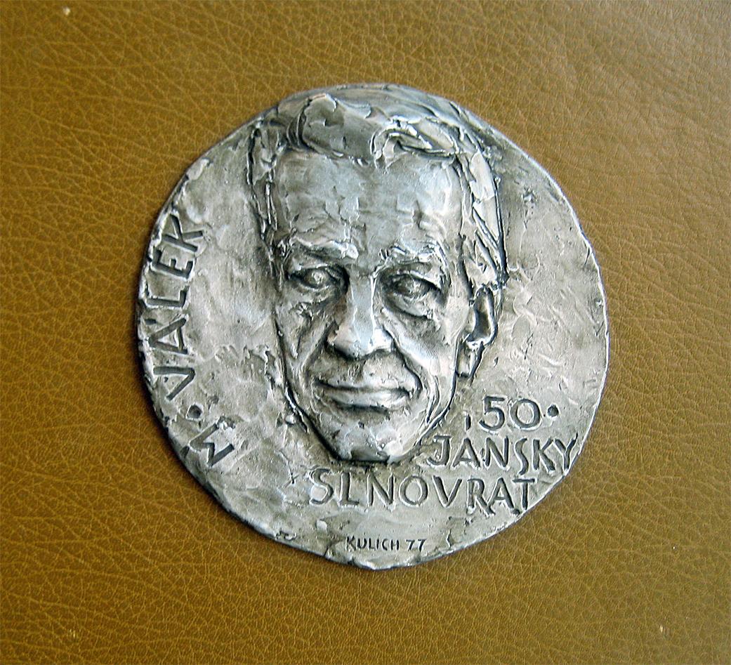 Medal of the Slovak Poet Miroslav Válek