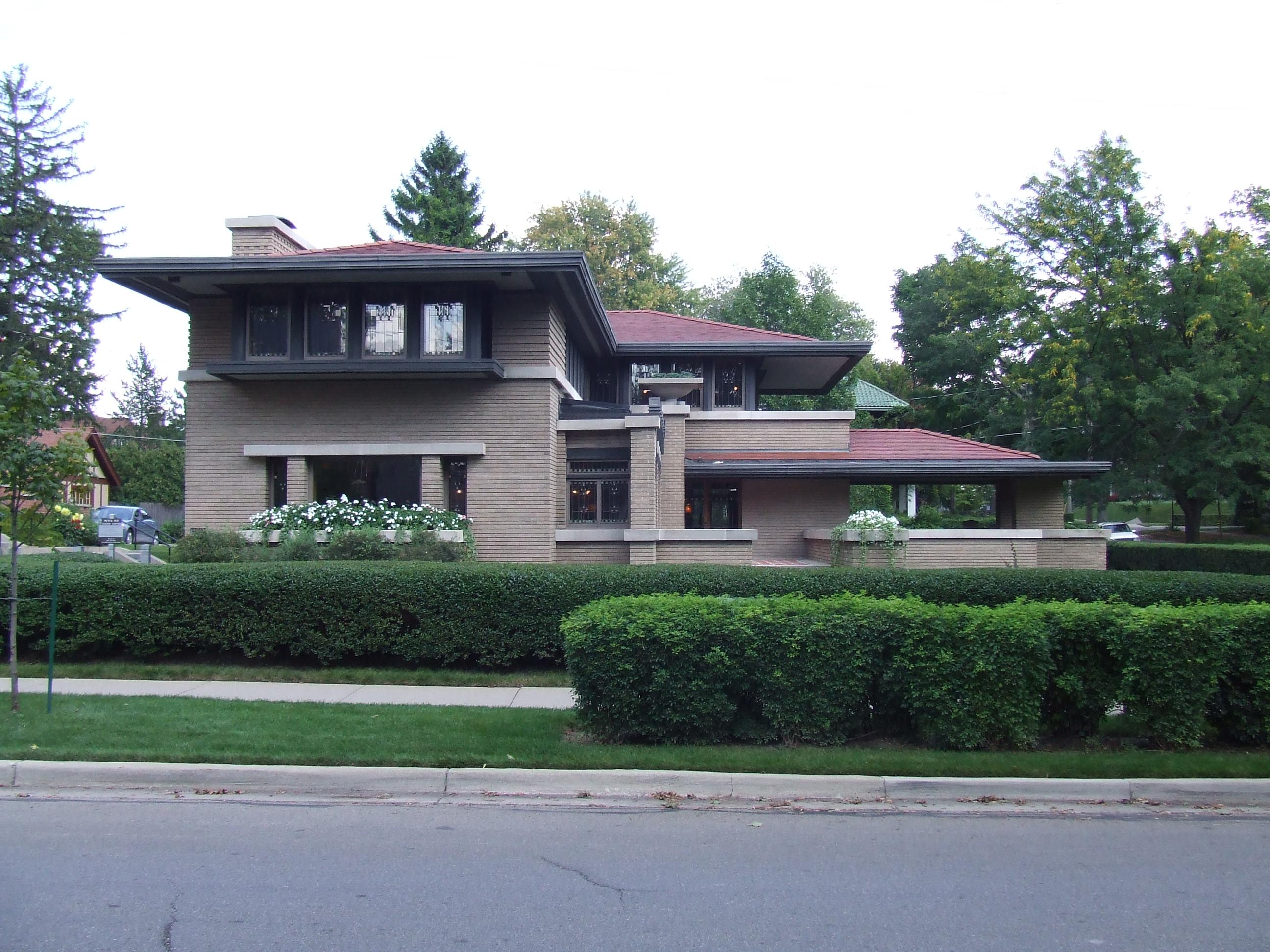 File meyer may house west side 2009 jpg wikimedia commons for Meyer house