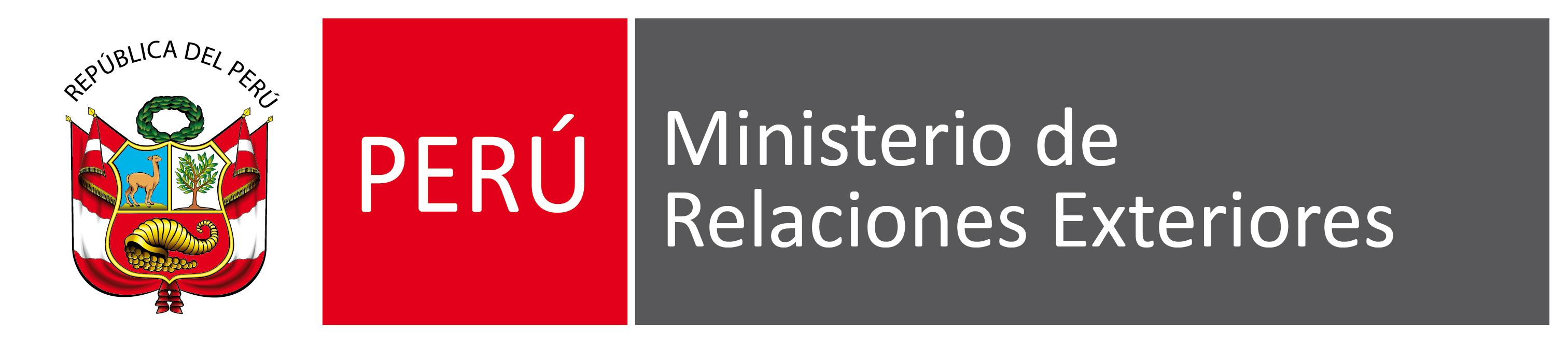 Logo Ministerio de Relaciones Exteriores