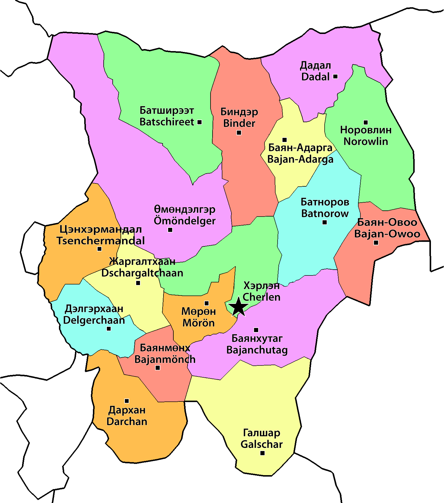 Datei:Mongolia Khentii sum map-mn-de.png – Wikipedia