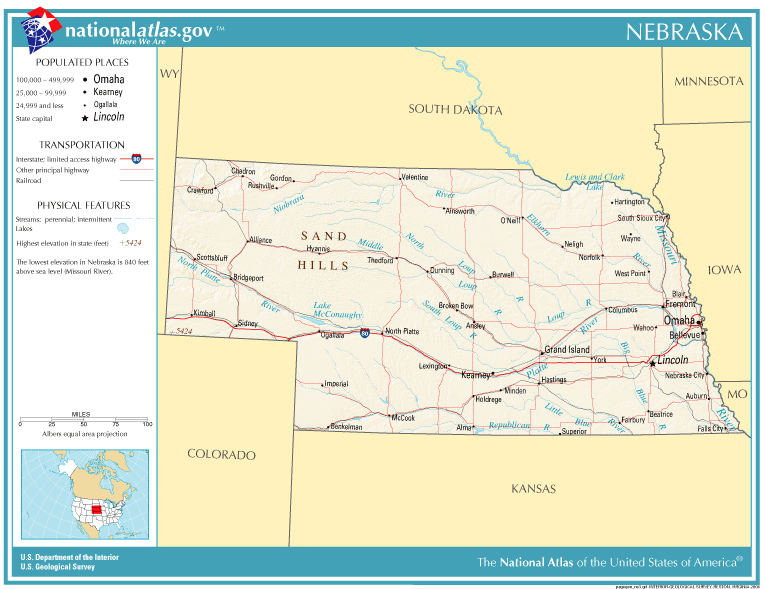 FileNationalatlasnebraskaPNG Wikimedia Commons - Nebrasks us map