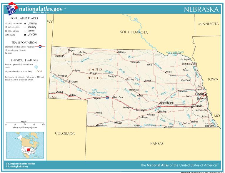 nebraska public land map File National Atlas Nebraska Png Wikimedia Commons nebraska public land map