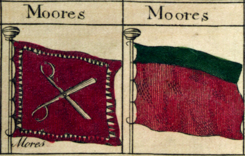ancient moabite flag modern day flag