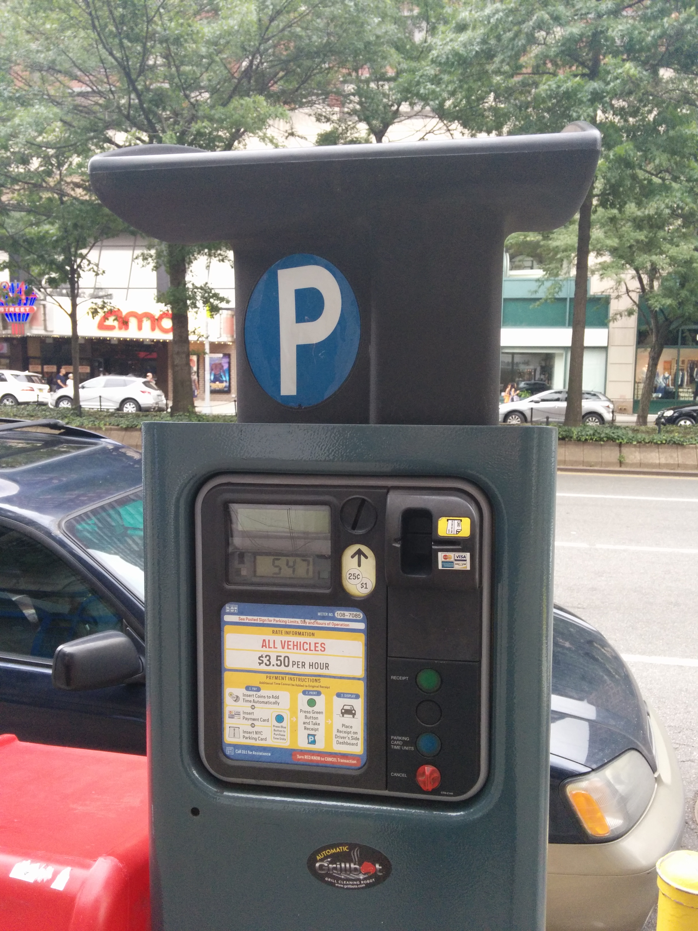 great news for paying nyc parking meters