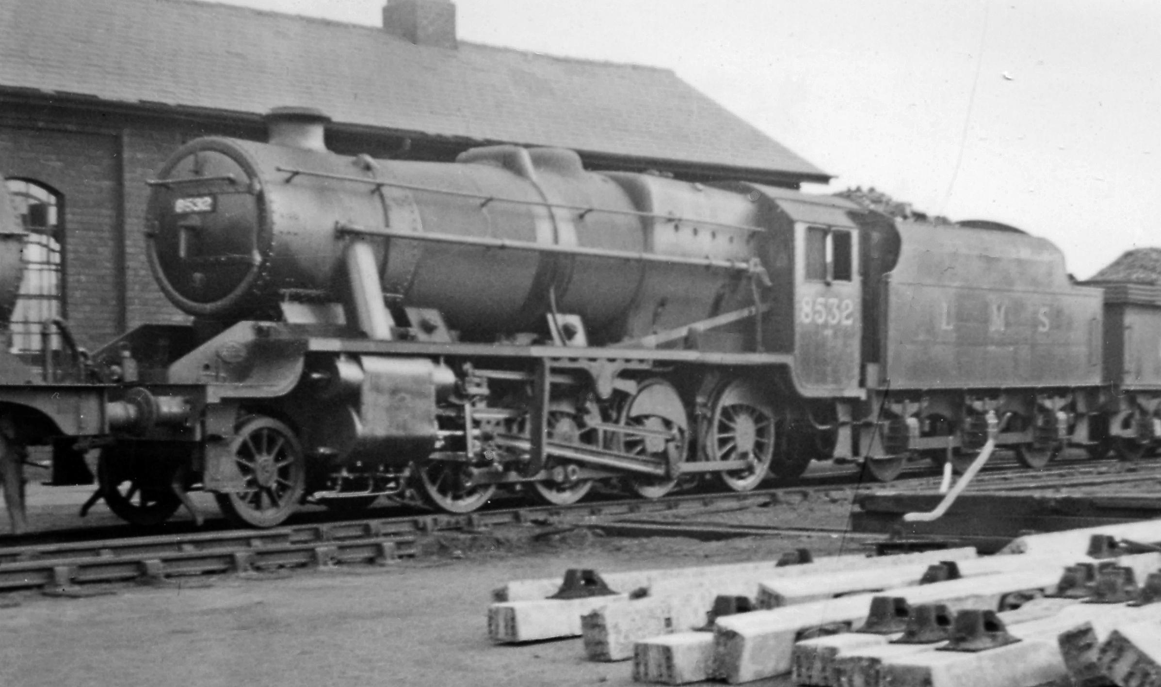 Locomotora Stanier 8F