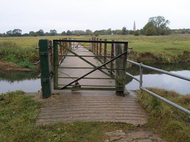 Ouse bridge near Olney - geograph.org.uk - 1540139