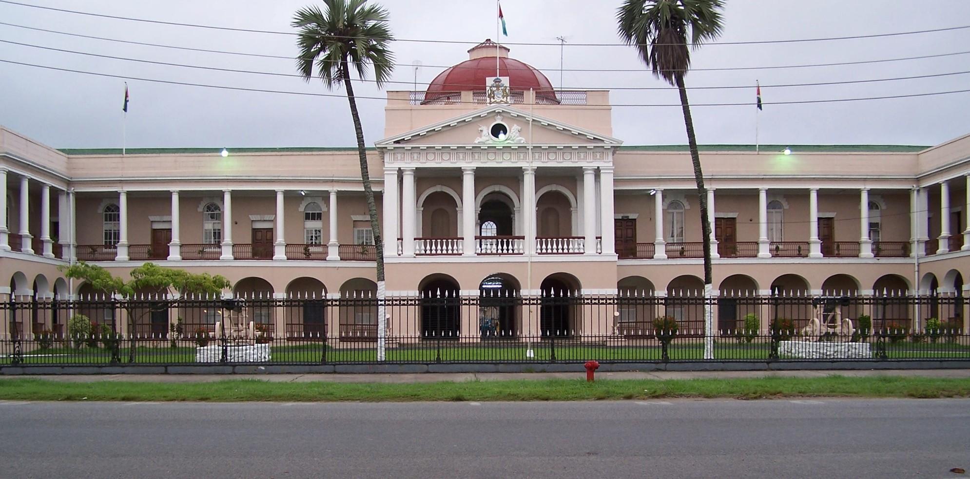 georgetown capitale de guyana