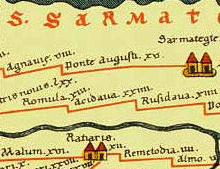 Part of Tabula Peutingeriana centered on Dacian town of Acidava.png