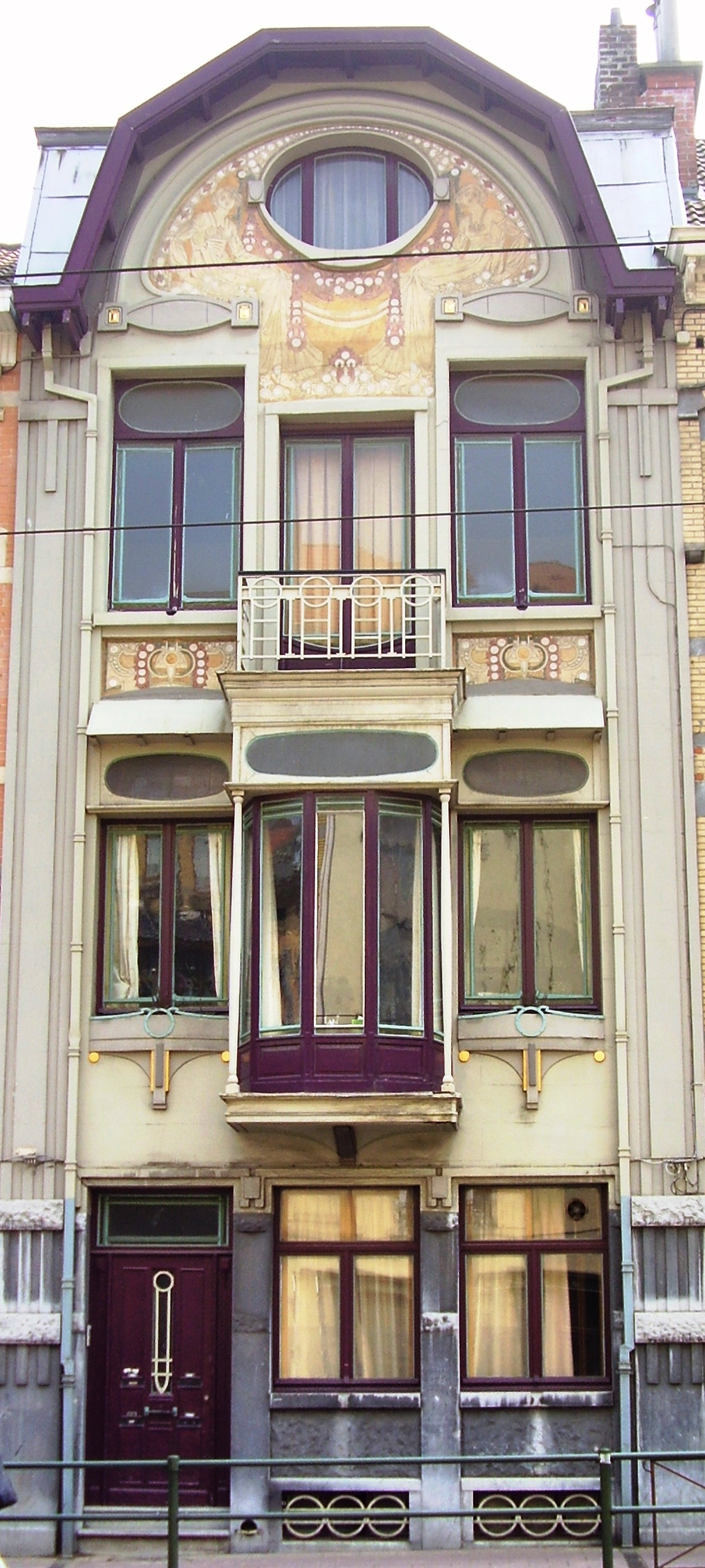 File paul cauchie art nouveau etterbbek jpg wikimedia for Decoration maison wikipedia