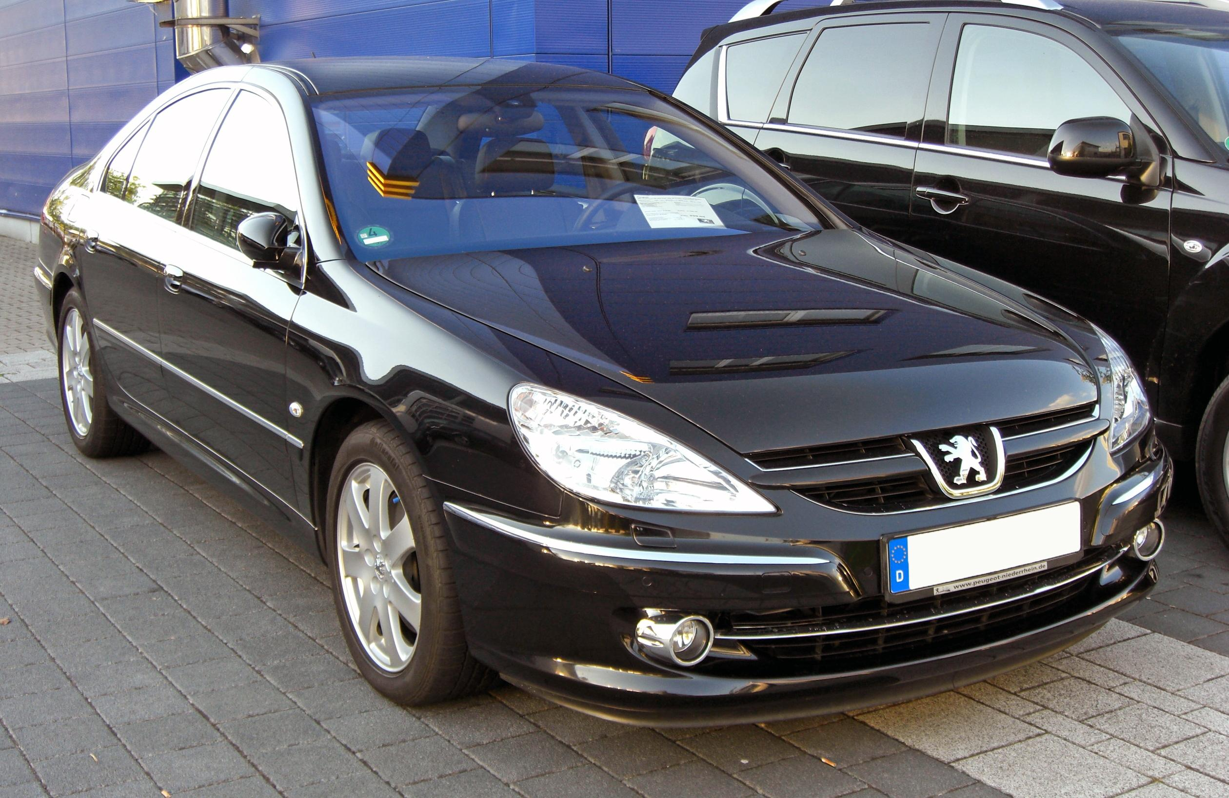 file peugeot 607 2 7 hdi facelift 20090529 front jpg wikimedia commons. Black Bedroom Furniture Sets. Home Design Ideas