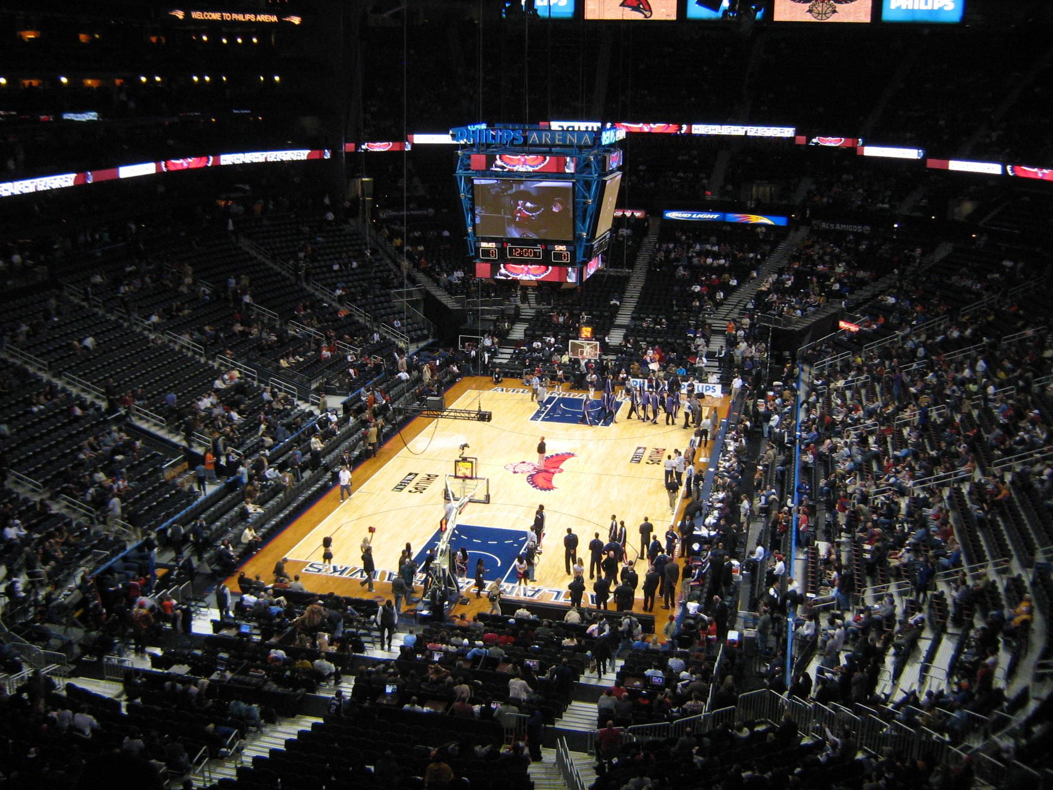 File Philips Arena Basketball Jpg Wikimedia Commons