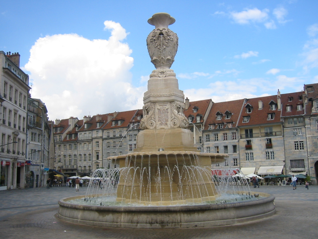 Fontaines publiques de besan on wikip dia - Piscine eau noire besancon ...