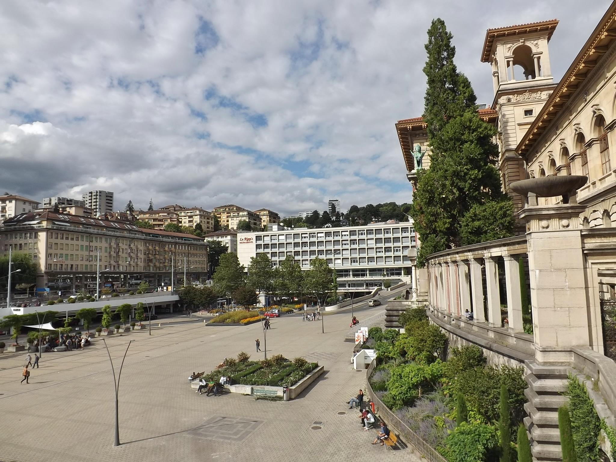 Fileplace De La Riponne Lausanne Août 2014jpg Wikimedia Commons