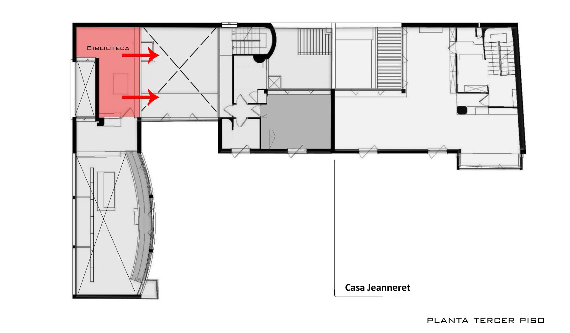 Villa La Roche Plan