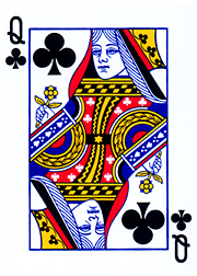 queen of clubs - Wiktionary