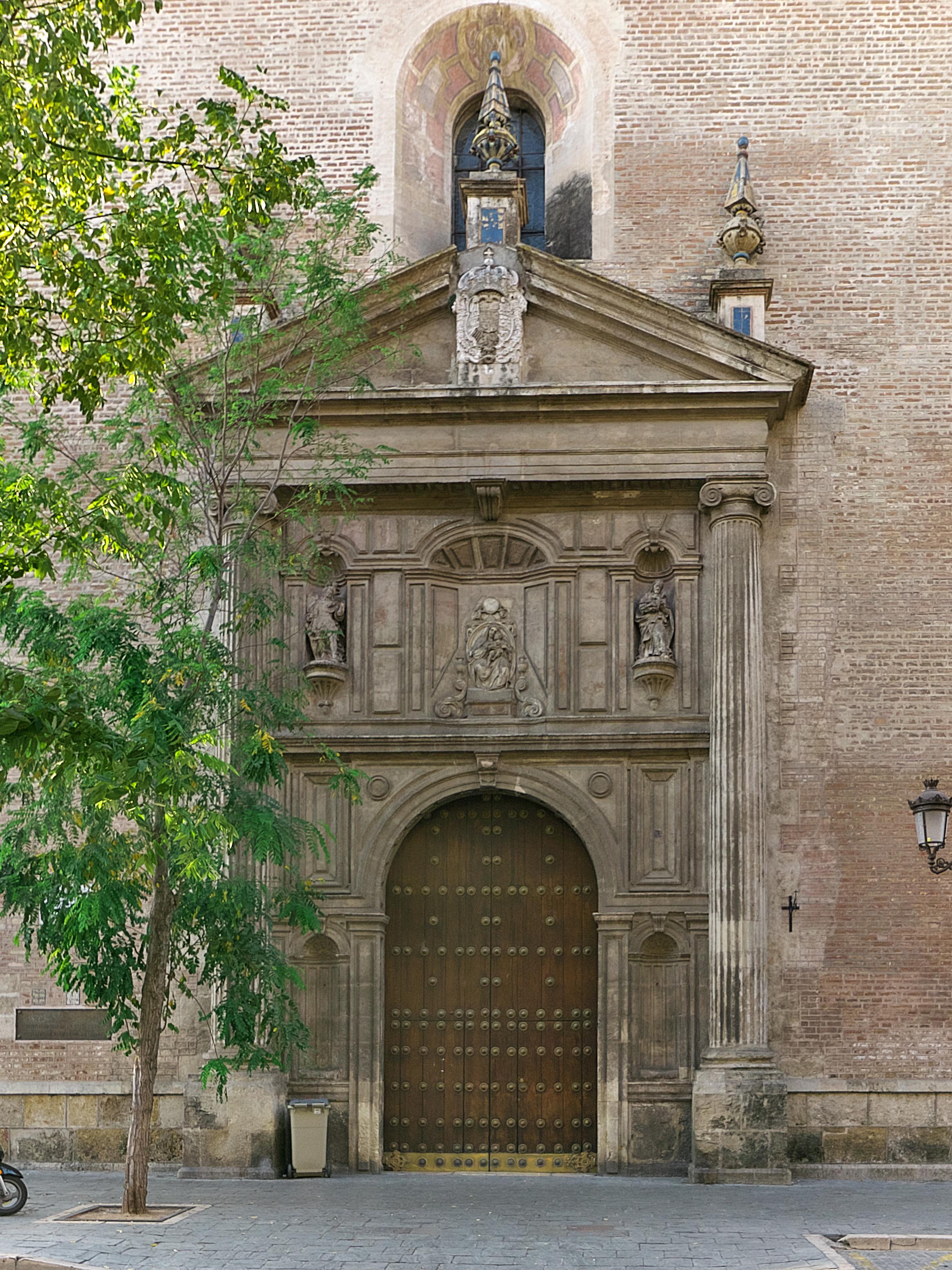 File Portada De La Iglesia De La Anunciacion Sevilla Jpg
