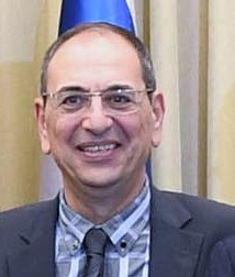 Reuven Rivlin hosting the Egyptian Ambassador to Israel at a festive occasion marking the 40th anniversary of Sadat's visit, November 2017 (1002) (cropped).jpg