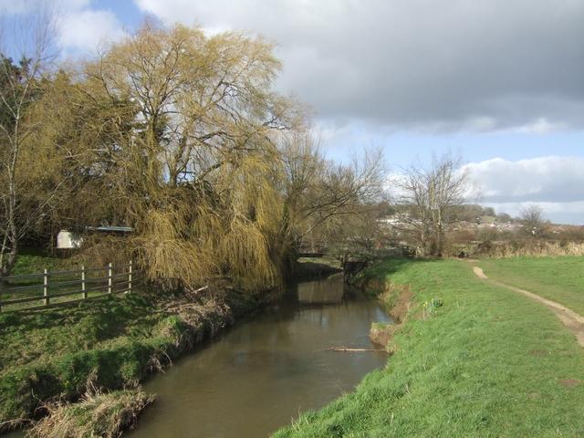 River Asker - geograph.org.uk - 709381
