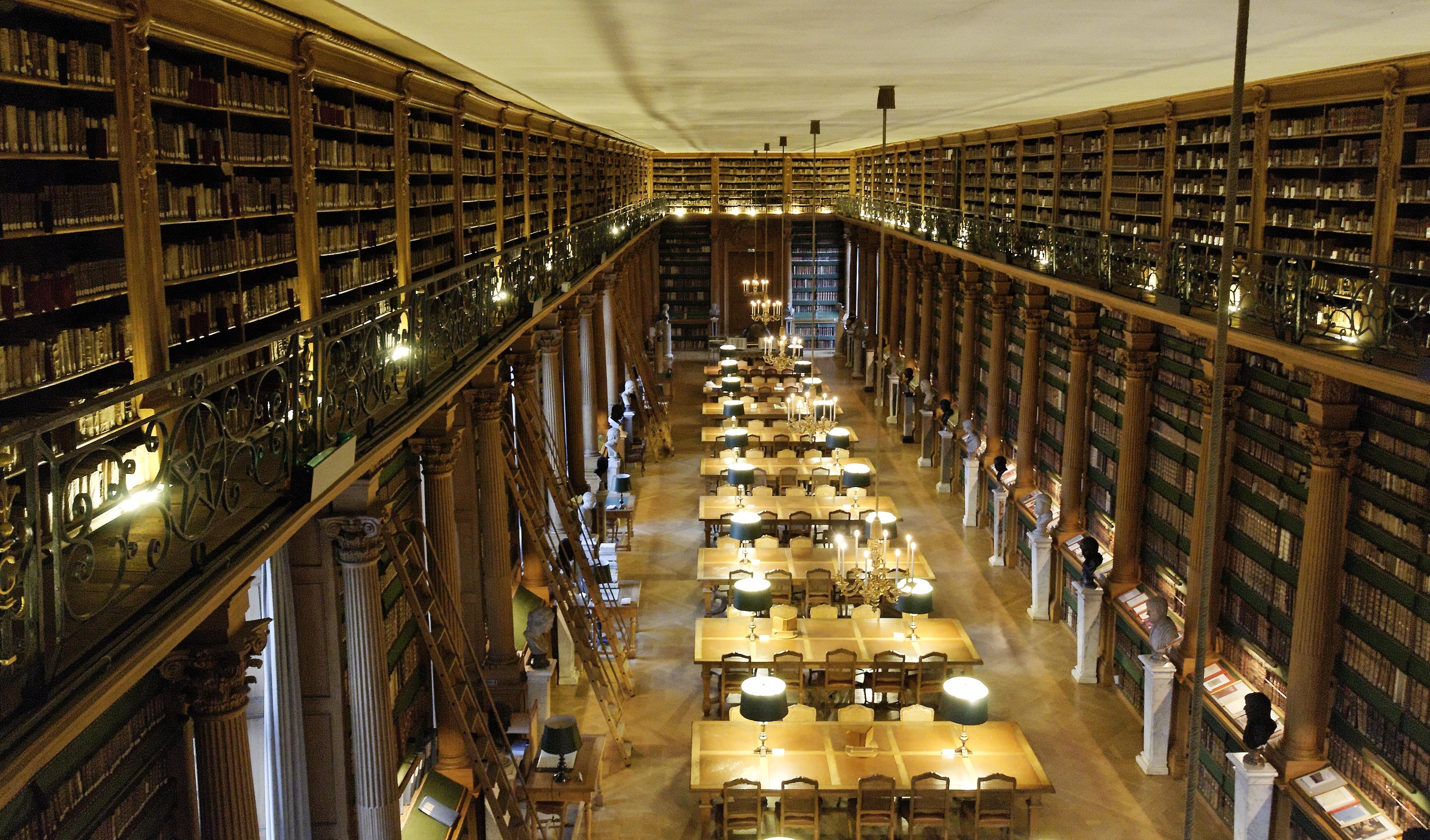 file salle de lecture biblioth 232 que mazarine depuis gallerie jpg wikimedia commons