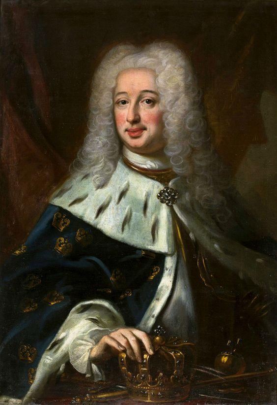 Portret Fryderyka I Heskiego, króla Szwecji